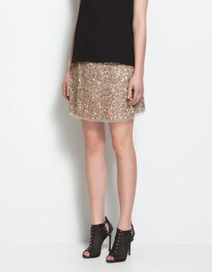 Thinking a sequin mini skirt is my next wardrobe staple.  New classics people, new classics.