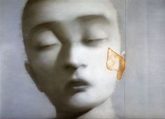 Zhang Xiaogang (張曉剛; b1958, Kunming, China)