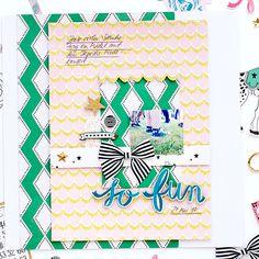 Crate Paper Carousel Layout 'So Fun'