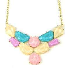 Funky Sweet Candy Summer Color Choker Collar Necklace Geometric Shapes for Women,nl-2042 (NL-2042A) Jewellerygets Necklace,http://www.amazon.com/dp/B00CWTL85I/ref=cm_sw_r_pi_dp_YzRrtb0ZNQC9MYP0