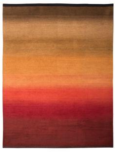 Panthik red - beautiful Tibetan #rug designed in SoHo, Handwoven in the…