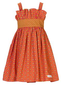 Ubule 'Beautiful' Dress - Orange/Pink | JenniDezigns Shop