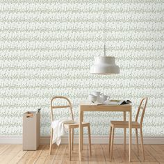 Welcome to Sandberg Wallpaper. We are a Swedish design company specialising in designer wallpaper and home accessories. Visit our site to browse the full collection of Sandberg wallpapers and find your nearest stockist. Diy Wallpaper, Beautiful Wallpaper, Swedish Design, Wall Organization, Beautiful Patterns, Wall Shelves, Interior Inspiration, Dining Table, Flooring