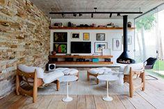 Modern home in Brazil
