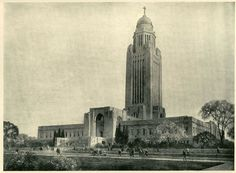 James Perry Wilson, Rendering of the Nebraska State Capitol, 1925
