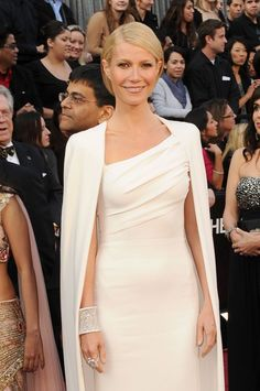 Gwyneth Paltrow on the red carpet of the 2012 Academy Awards...that cuff is amazing.