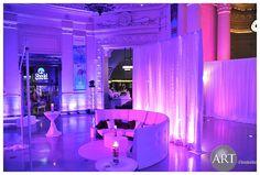 Gorgeous #shedd #aquarium #purple #draping #lounge