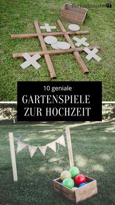 Garden Wedding, Dream Wedding, Wedding Day, Diy Projects For Beginners, Projects To Try, Garden Games, Fun Hobbies, Wedding Games, Wedding In The Woods