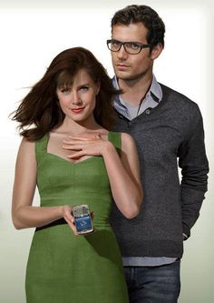 Lois and Clark: Henry Cavill y Amy Adams (lovely)