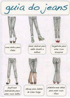 Dica de moda: guia de barras de acordo com o tipo de sapato - Moda