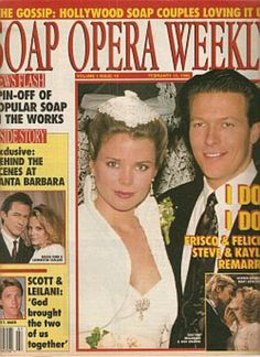 GH Frisco and Felicia #2 and Days Patch and Kayla #2 - I actually still have this issue. I found it while cleaning my room.