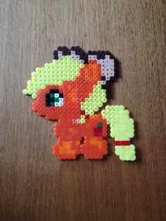 Apple jack. My little pony. Bead pattern.