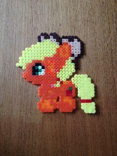 Apple jack. My little pony. Bead pattern.