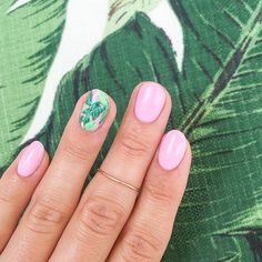 palm tree nails