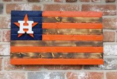 Astros burnt style 12x22 flag Wood Projects, Woodworking Projects, Astros Team, Marine Flag, Diy Wood Bench, Come And Take It, Wood Flag, Wooden Stars, Porch Signs