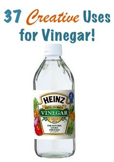37 Creative Uses for Vinegar! via TheFrugalGirls.com #diy #vinegar