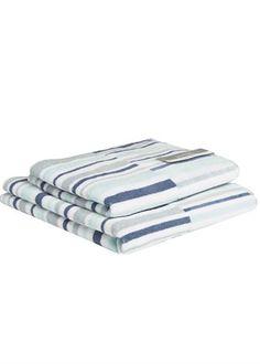Matalan Textured Stripe Towels