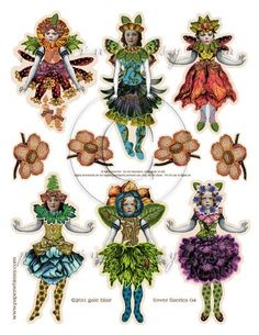Fower Flaerie 004 PDF - paperwhimsy