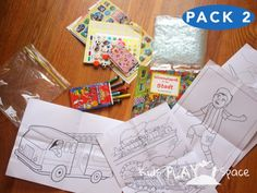 Toddler plane travel ideas- pack 2