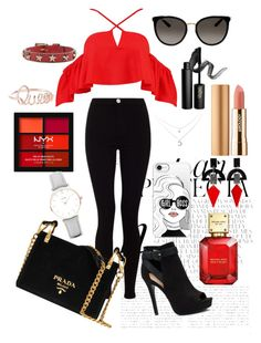 """Girl boss💋"" by kaoriihayashi on Polyvore featuring Whiteley, Casetify, Gucci, Lipsy, Boohoo, Apt. 9, INIKA, Michael Kors, Axiology and NYX"