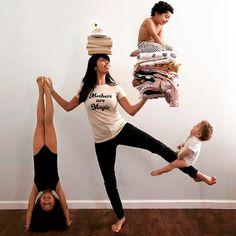 Mama macht Yoga – mit Kind, Kleinkind und Baby. Alles eine Frage der Balance ;-)