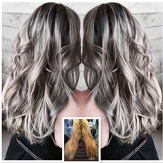 gray hair | Modern Salon