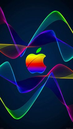 Iphone Logo, Apple Logo Wallpaper Iphone, Apple Wallpaper Iphone, Phone Screen Wallpaper, Iphone Background Wallpaper, Cellphone Wallpaper, Kate Spade Wallpaper, Nike Wallpaper, Rainbow Wallpaper