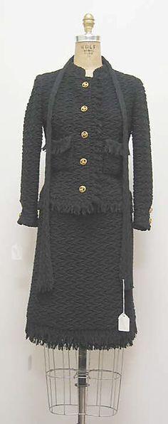 Vintage Chanel suit ca. 1963