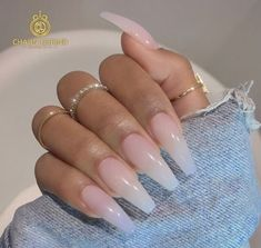 There are three kinds of fake nails which all come from the family of plastics. Acrylic nails are a liquid and powder mix. They are mixed in front of you and then they are brushed onto your nails and shaped. These nails are air dried. Perfect Nails, Gorgeous Nails, Pretty Nails, Cute Acrylic Nails, Acrylic Nail Designs, Neutral Acrylic Nails, Coffin Nails Ombre, Hair And Nails, My Nails