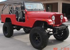 82 Jeep Scrambler, Lifted, Axles, V-8, Cage Look!!! - Pirate4x4.Com : 4x4 and Off-Road Forum