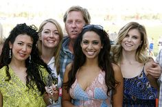 Lia Roldan, Tara Hunnewell, Scott Barbour, Nadia Dawn, Roxanne Haberland, Beverly Hills Polo Team, Empire Polo Club