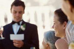 Como hacer un discurso de boda dedicado a los novios