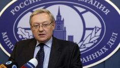 Russia's Deputy Foreign Minister Sergei Ryabkov speaks during a news briefing in the main building of Foreign Ministry in Moscow, December 15, 2008.  | Foto: Reuters