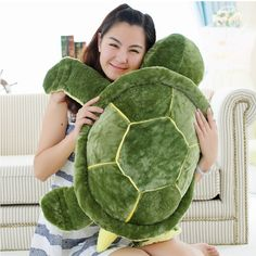 Huge Size Plush Turtle Pillow/Cushion – Wacky Wigwam
