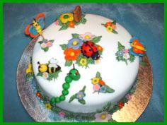 bug birthday, cake idea, bug cake, bug theme