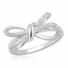 10k White Gold Diamond Knot Ring (0.05 cttw, I-J Color, I2-I3 Clarity) Amazon Curated Collection, http://www.amazon.com/dp/B0030IM1UG/ref=cm_sw_r_pi_dp_QHM3qb070QRD1