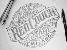 Red Couch Tattoo by Mateusz Witczak