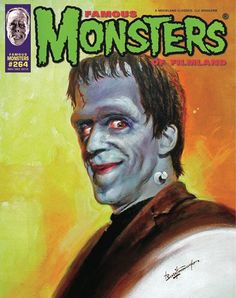 A new Basil Gogos cover for Famous Monsters.