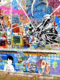 À Buenos Aires, visite guidée organisée par Graffitimundo pour une tournée de la ville plutôt originale : visite des « spots » d'artistes de rue!