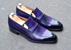 Caulaincourt shoes - Montechristo - dark orchid