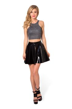 M Chainmail Reversible Crop › Black Milk Clothing pending swap for Weaseley weather bottle GFT