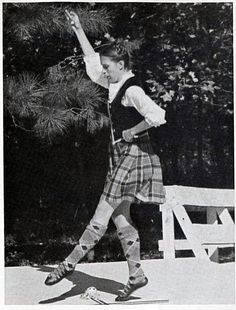 Judith Black from Stone Mountain Highland Games Program Archives 1975.