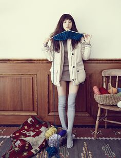 Yoon Seung Ah For Thursday Island's Winter 2013 Ad Campaign | Couch Kimchi