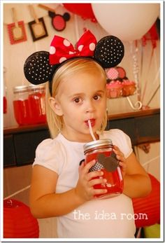 Minnie Mouse Party Ideas - The Idea Room by PFR