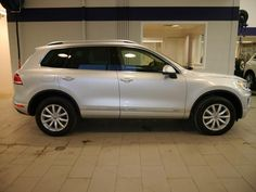 New 2016 Volkswagen Touareg for sale in Brooklyn Center MN at Luther Brookdale Volkswagen dealer near Minneapolis. Minnesota VW dealership. New VW SUV for sale. New Volkswagen Touareg for sale. 2016 Touareg. Silver luxury SUV with Navigation, All Wheel Drive, Power Liftgate, Heated Driver Seat, Back-Up Camera and more. >> Click the photo to learn more!