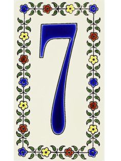 Mediterranean-inspired house numbers #hgtvmagazine http://www.hgtv.com/landscaping/copy-the-charming-curb-appeal/pictures/page-5.html?soc=pinterest