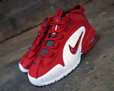 Nike Air Max Penny 1 University Red - White