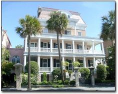 Charleston, SC, The Battery Carriage House Inn.  Another all time favorite spot.