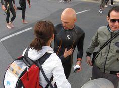 Manuele Vidi sporting Synergy Wetsuits