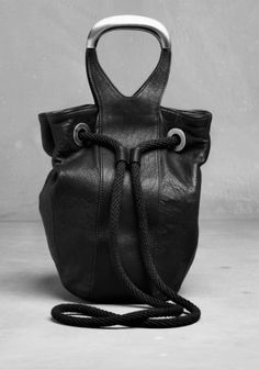 Leather Tote - £95   OTHER STORIES